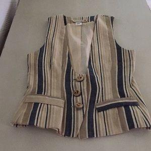 Vintage David York Silk Vest